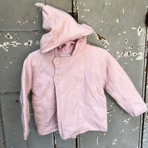 Country Road Ultra cozy hooded angora wool sweater